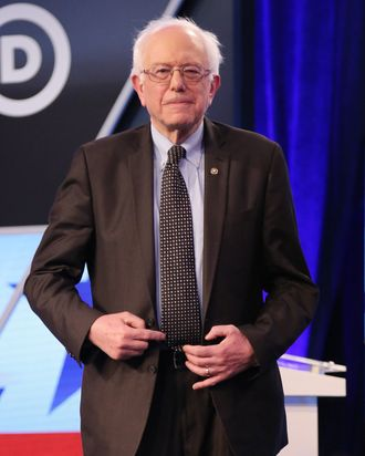 See below for Bernie Sanders — the Hollywood edition. Photo by Alexander Tamargo/Getty Images