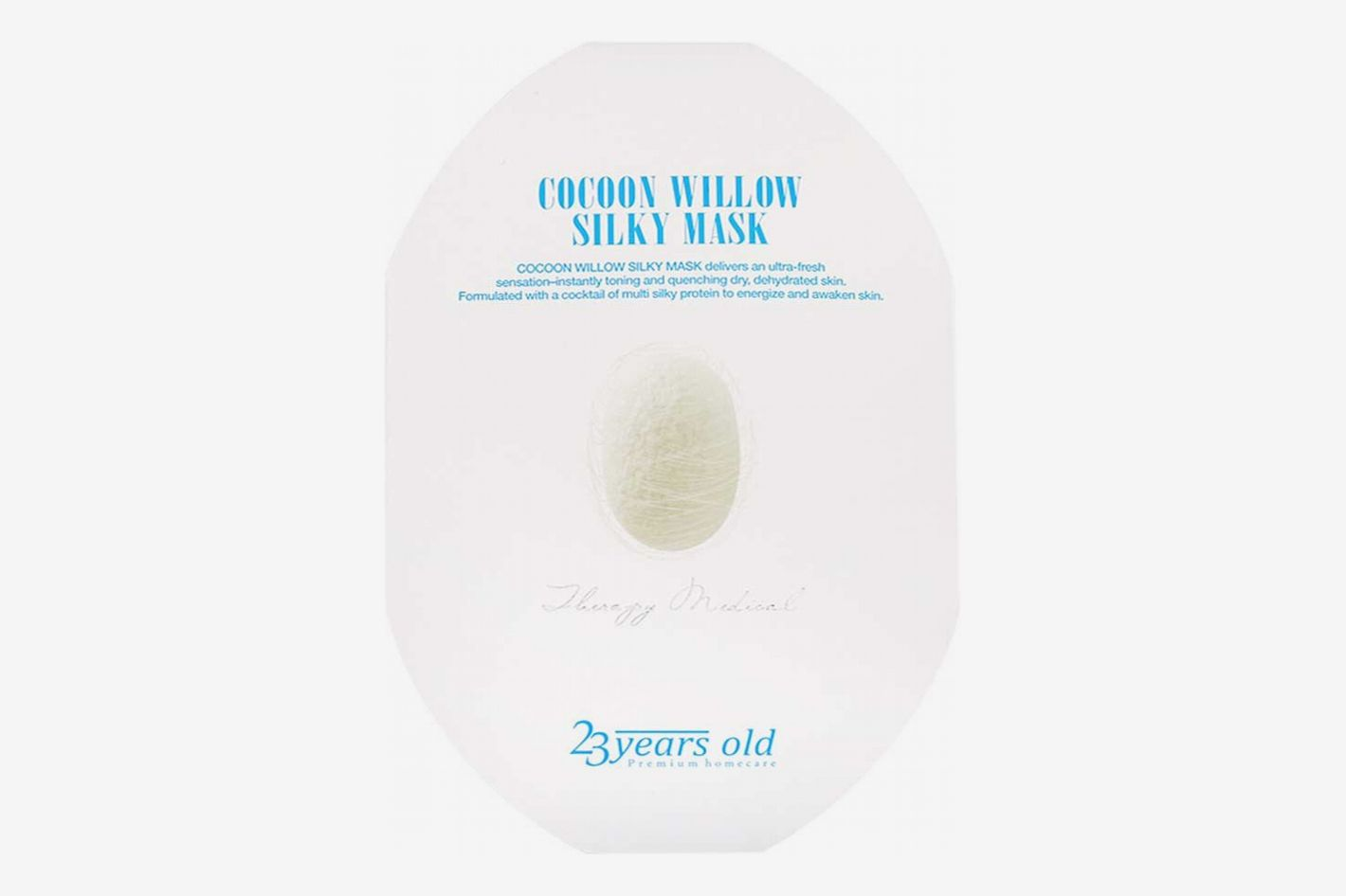 9. 23 Years Old Cocoon Willow Silky Mask (New entry)