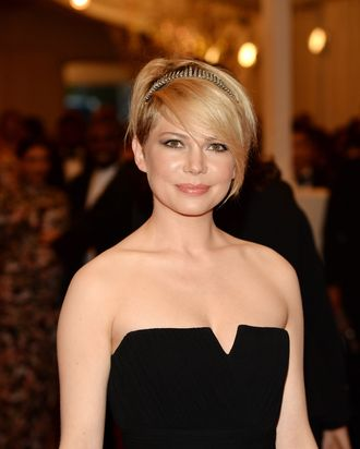 NEW YORK, NY - MAY 06: Actress Michelle Williams attends the Costume Institute Gala for the