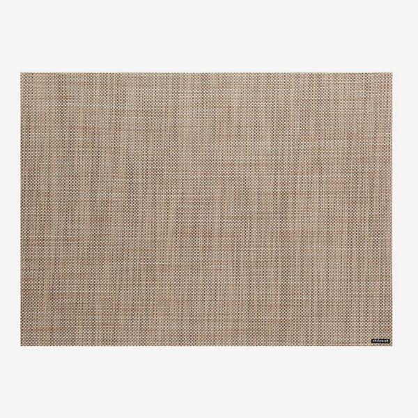 Chilewich Mini Basketweave Placemat, Linen