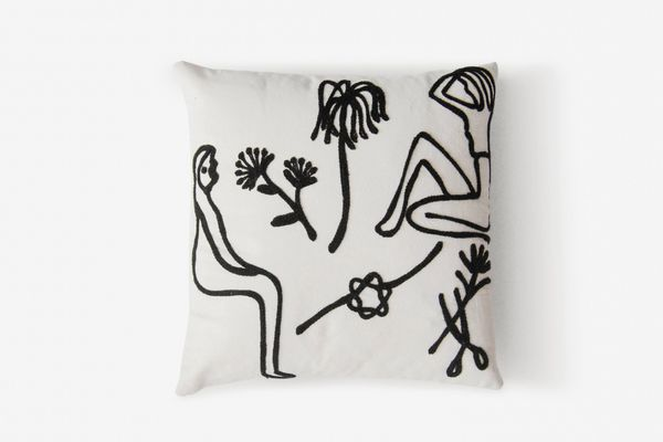 Kaye Blegvad Flash Embroidered Pillow Case