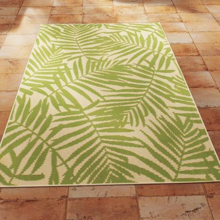 Mainstays 5ft. x 7ft. Palm Outdoor Area Rug