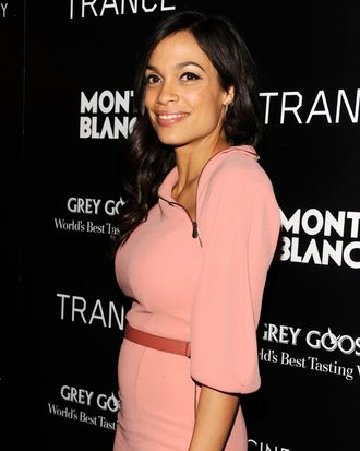 Rosario Dawson== The Cinema Society & Montblanc host the premiere of Fox Searchlight Pictures'