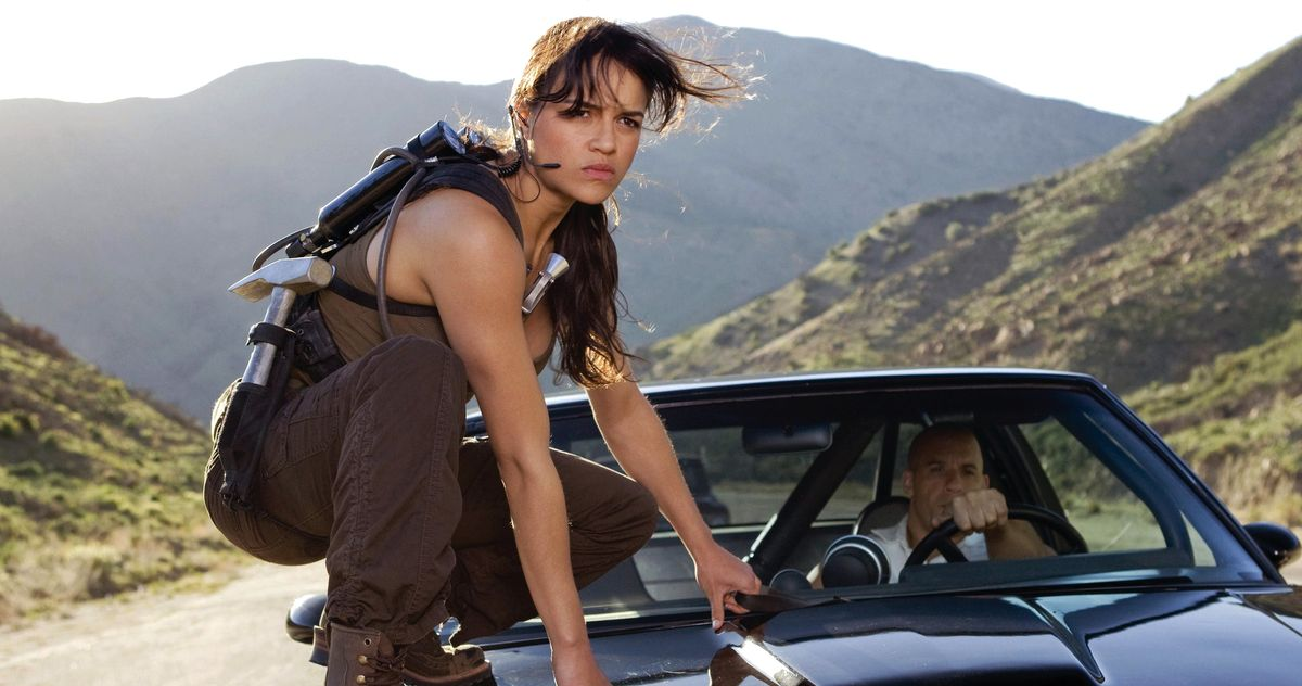 Michelle Rodriguez Doesn't Want You to Know ThatFast 9Might Go to Space