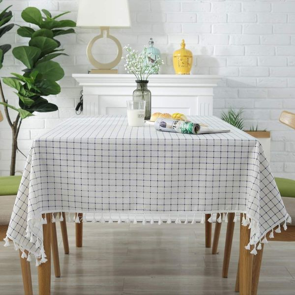 Plenmor Cotton Linen Table Cloth