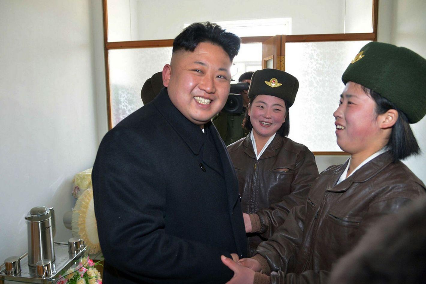 Kim Jong Un Probably Not Making North Korean Men Get His Macklemore