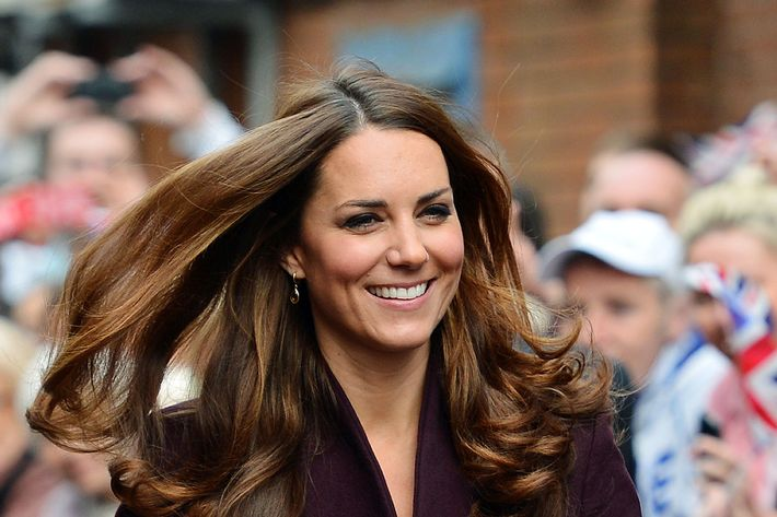 Pregnant Kate Middleton.
