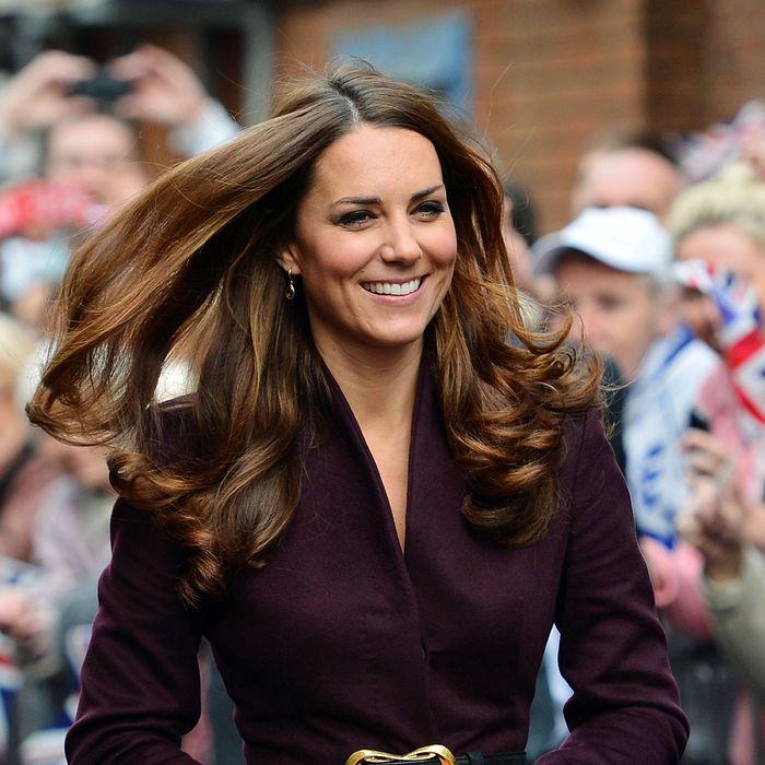 Pregnant Kate Middleton.