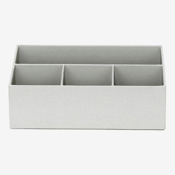 Threshold Fabric Desktop Tool Holder Gray