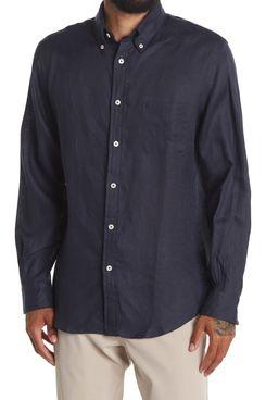 Brooks Brothers Regent Fit Linen Shirt