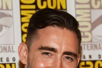 "Actor Lee Pace attends Marvel Studios' ""Thor: The Dark World"", ""Captain America: The Winter Soldier"" and ""Guardians of The Galaxy"" during Comic-Con International 2013 at Hilton San Diego Bayfront Hotel on July 20, 2013 in San Diego, California."
