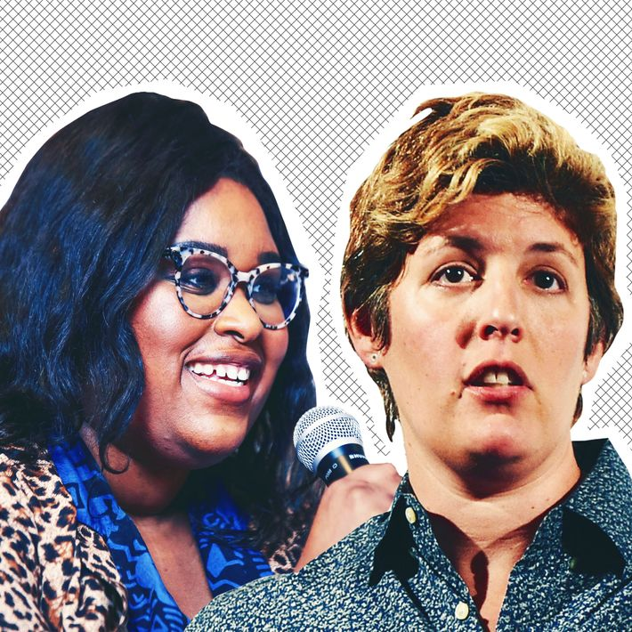 Aminatou Sow and Sally Kohn.