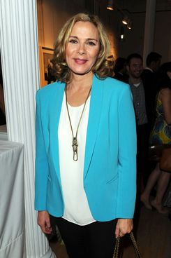 Kim Cattrall attends the Tribeca Ball 2012