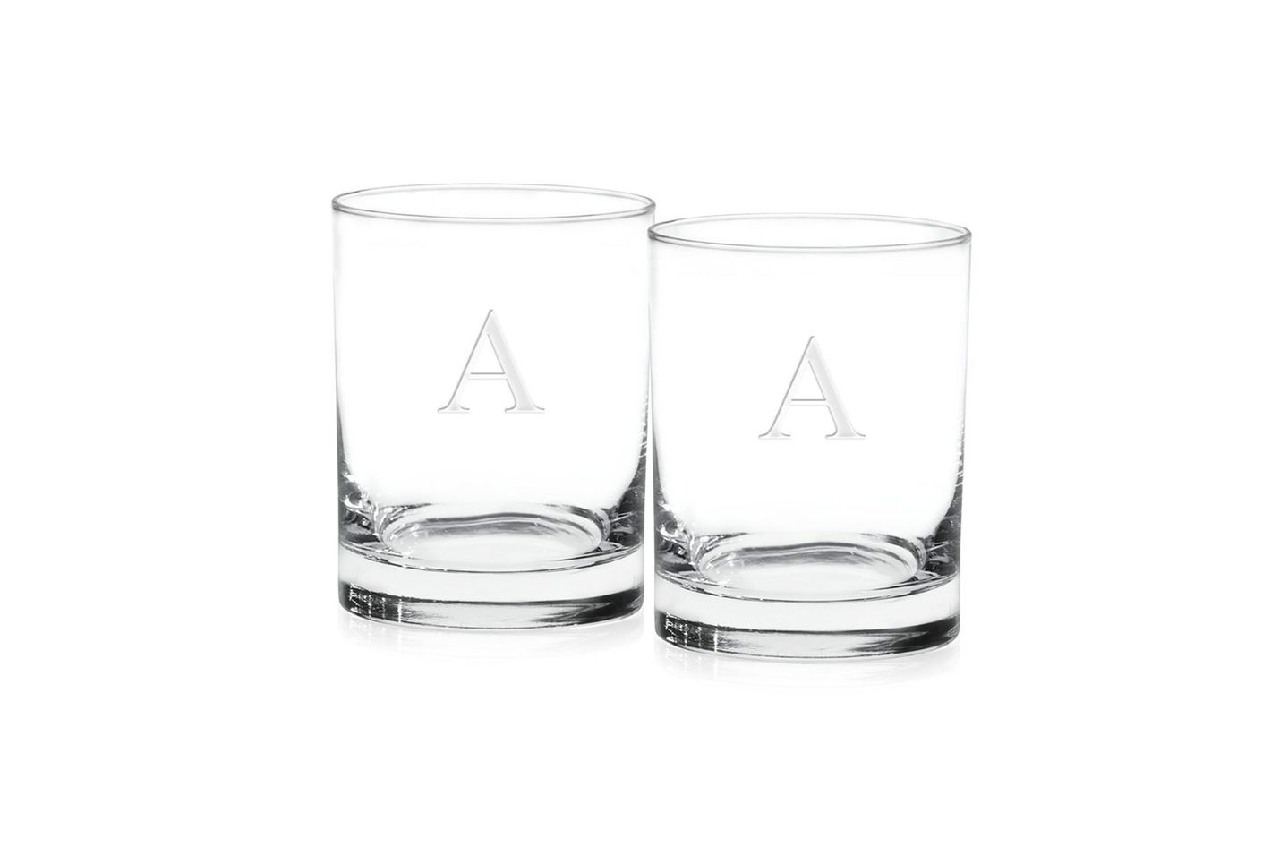 0dc015906347 Culver Monogram Double Old Fashioned Glasses at Macy s