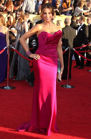 18th Annual Screen Actors Guild Awards at the Shrine <P> Pictured: Sofia Vergara <P><B>Ref: SPL355246  290112  </B><BR/> Picture by: Jen Lowery / Splash News<BR/> </P><P> <B>Splash News and Pictures</B><BR/> Los Angeles:310-821-2666<BR/> New York:212-619-2666<BR/> London:870-934-2666<BR/> photodesk@splashnews.com<BR/> </P>