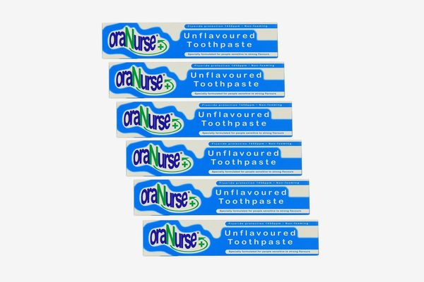 Oranurse Unflavoured Toothpaste (Pack of 6)