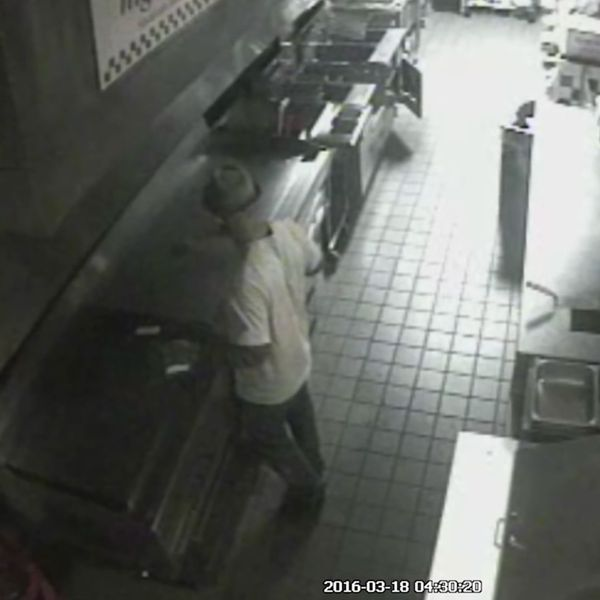 Very Hungry Criminal Breaks Into Five Guys Just to Make Some Burgers