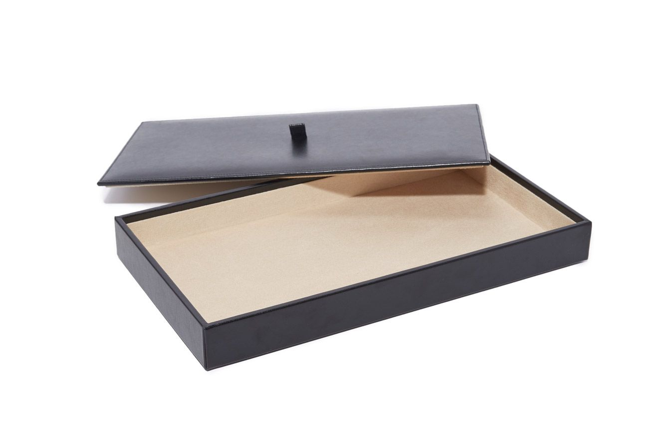 WOLF Vault Tray Set with Lid
