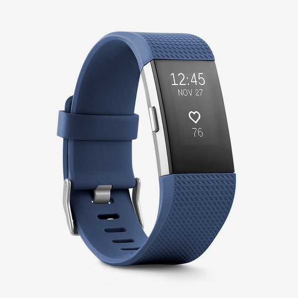 blue fitbit charge 2 heartrate - - strategist fitness trackers on sale