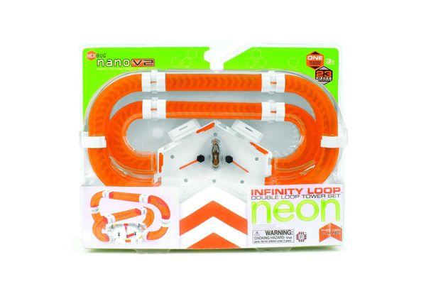 HEXBUG nano V2 Neon Infinity Loop