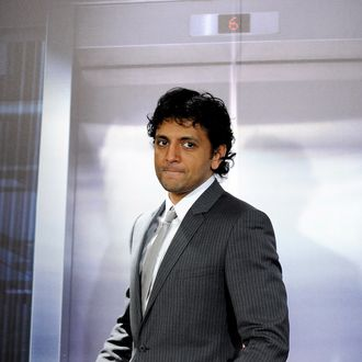 MADRID, SPAIN - JANUARY 27: Director M. Night Shyamalan attends