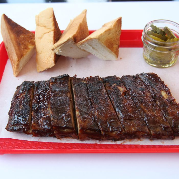 Ribs from Pork Slope, home of the Porky Melt.