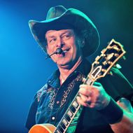 Ted Nugent performs at the House of Blues on August 14, 2012 in Chicago, Illinois.