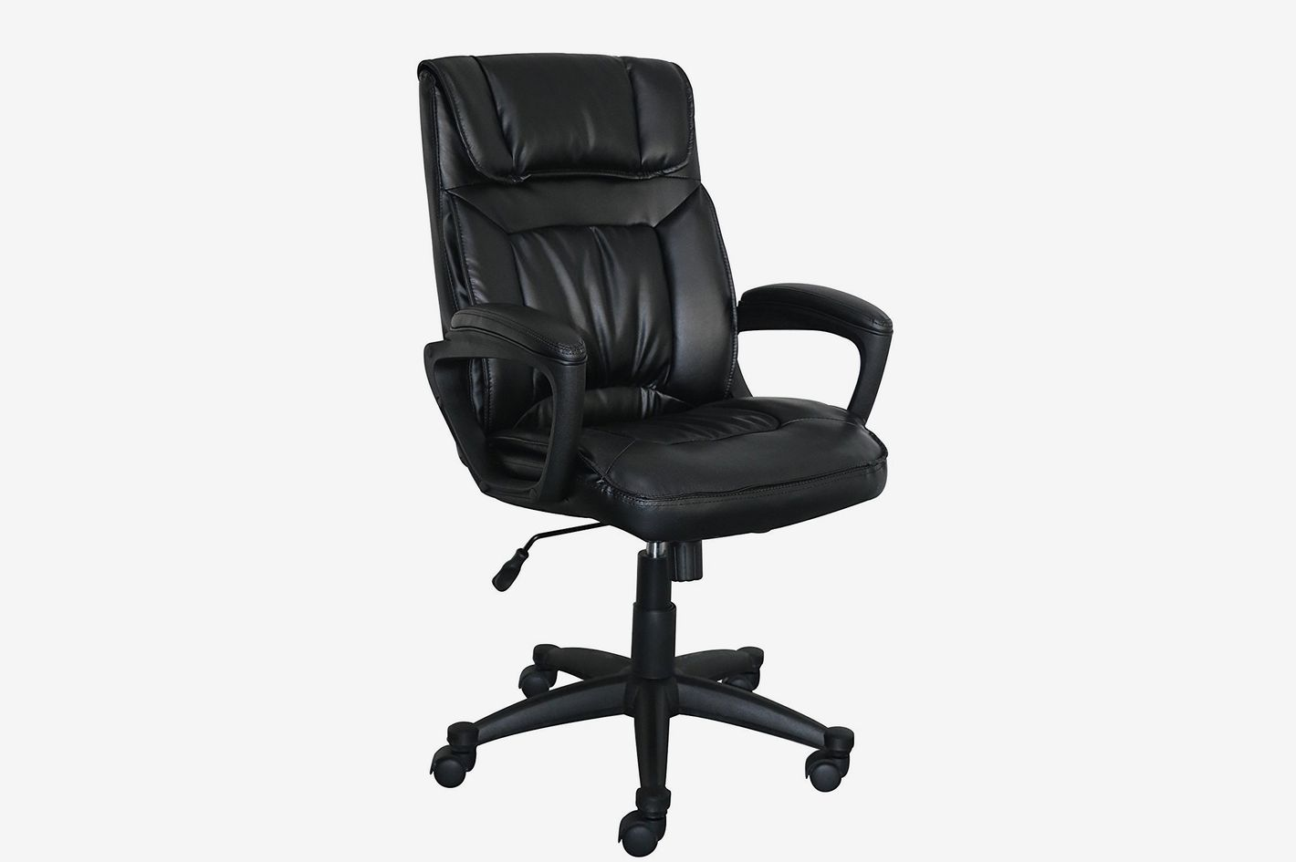 serta black leather best office chair under $200 : cheap black leather chairs - Cheerinfomania.Com