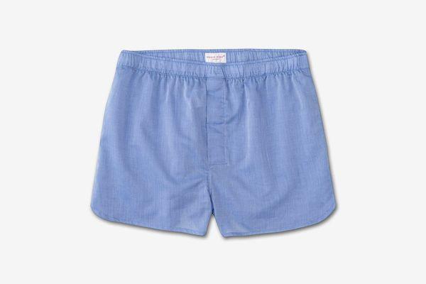 Derek Rose Men's Modern Fit Cotton Boxer Shorts