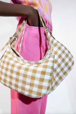 Zara Satin Effect Shoulder Bag
