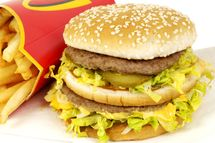 Mcdonalds Big Mac beefburger