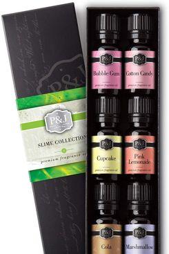 Slime Set of 6 Fragrance Oils