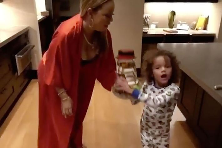 Mariah Carey's Son Lip-syncs 'All I Want for Christmas'