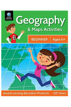 Geography & Maps Activities, Beginner for Ages 6+