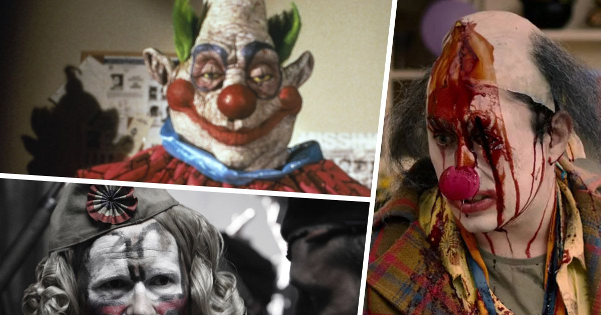 11 killer clown movies to watch this month if you dare for Killer clown movie