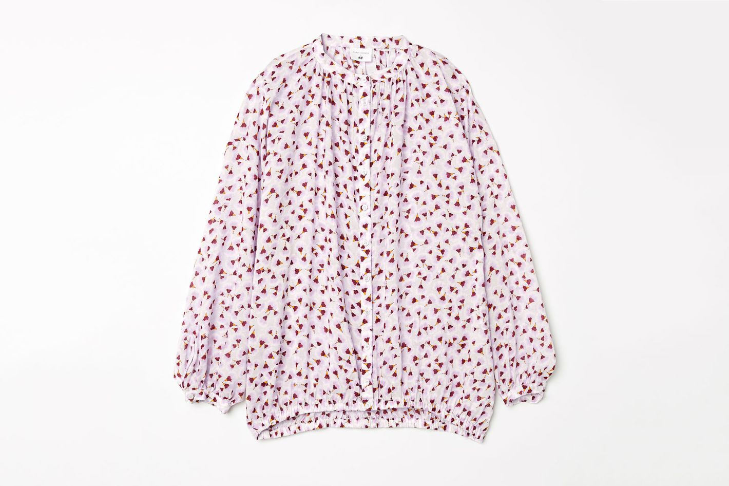 Anna Glover x H&M patterned blouse