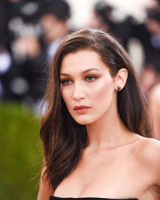 Bella Hadid will professionally sell Dior makeup.