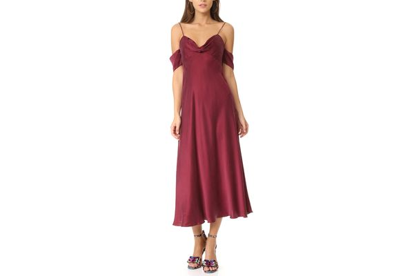 Zimmermann Drape Slip Dress
