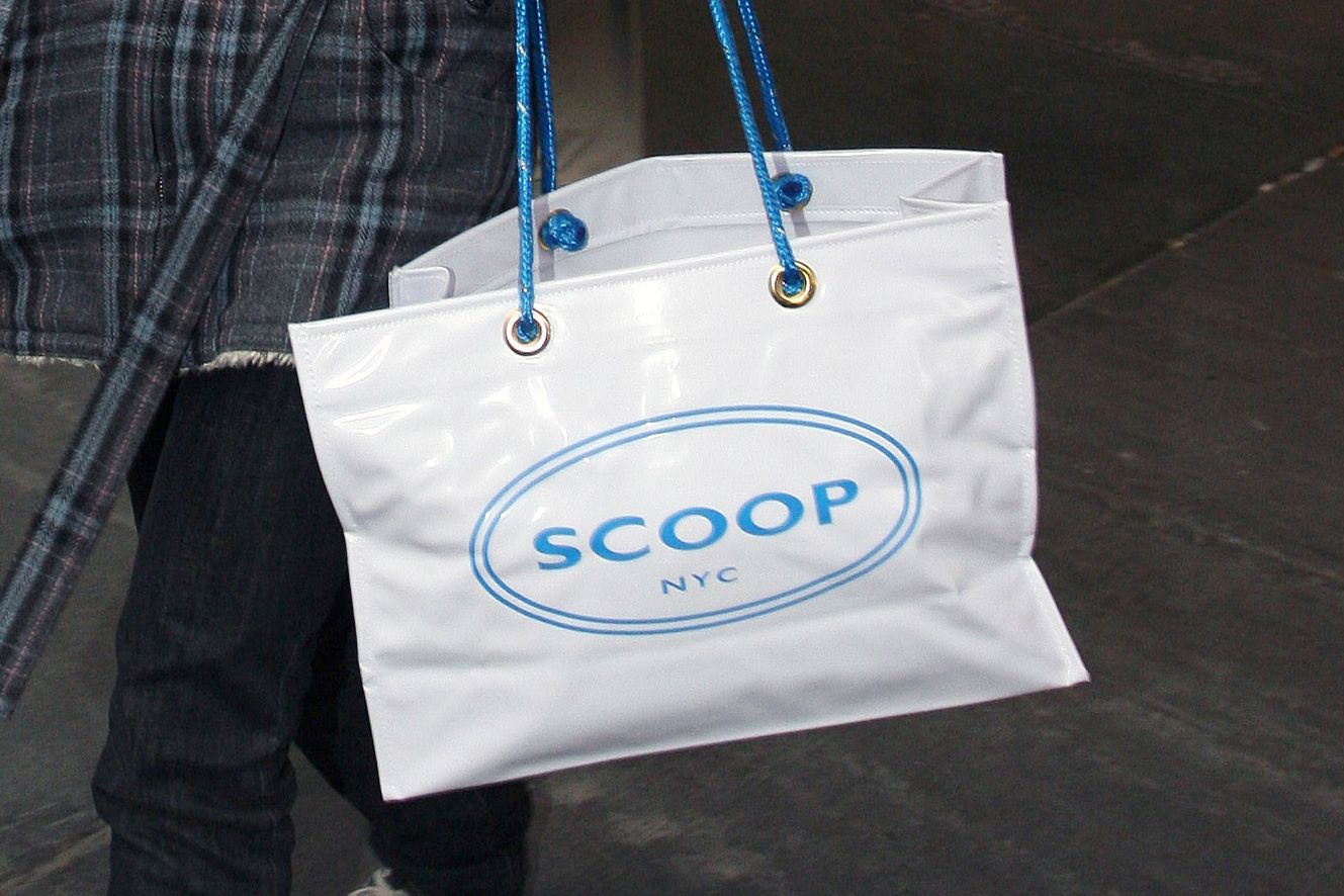 RIP Scoop, Home of the 2000s 'It' Shopping Bag
