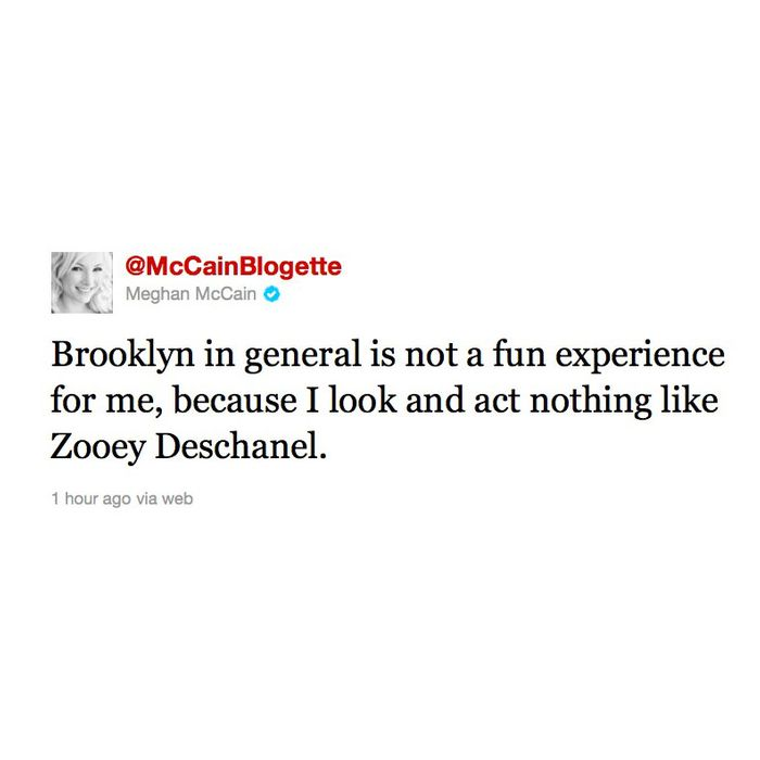 Portroids Presents Meghan Mccain: Meghan McCain Is Not Having A Good Time In Brooklyn