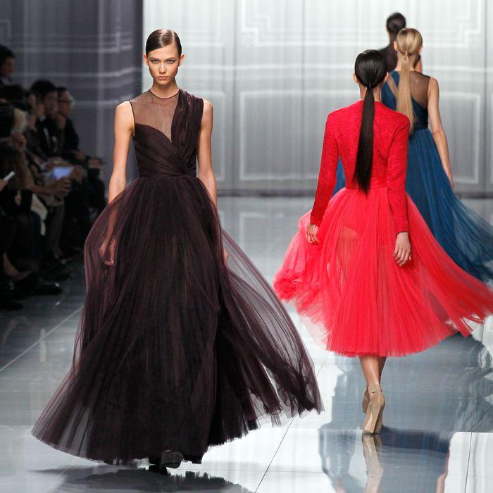 Kloss at Dior.