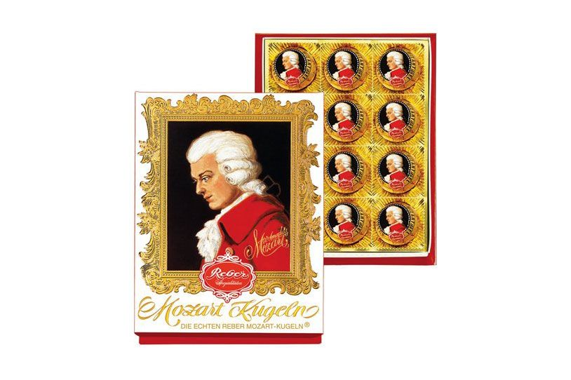 Reber Mozart Kugel — Medium Portrait Box