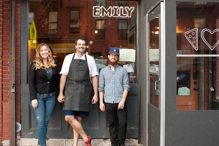 Emily, Matt, and Lou.