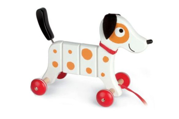 Janod Rocky the Dog Pull Toy