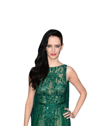 HOLLYWOOD, CA - AUGUST 19: Actress Eva Green arrives at the Premiere of Dimension Films'
