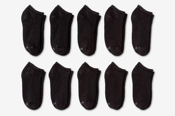 Hanes Women's Red Label Low Cut Socks (10-Pack)