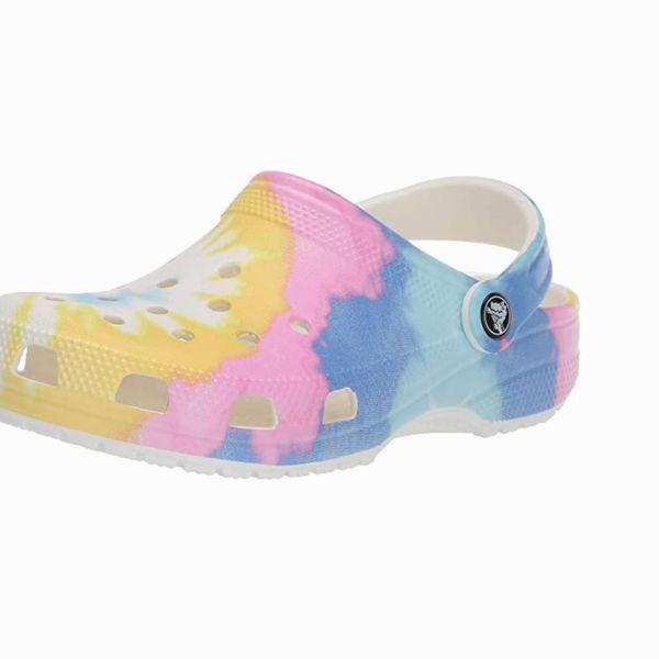Crocs Unisex-Adult Classic Tie Dye Clogs