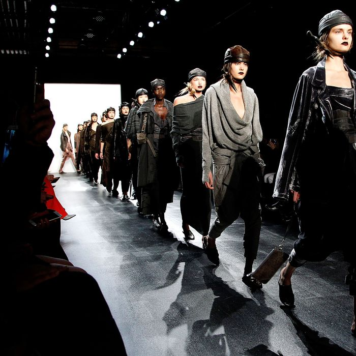 New York Fashion Week might not look like this for long.