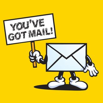 aol you ve got mail voice man is an uber driver rh nymag com Mail Delivery Clip Art New Email Clip Art