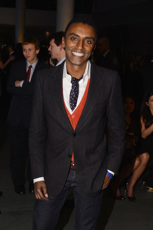 "Chef Marcus Samuelsson attends WSJ. Magazine's ""Innovator Of The Year"" Awards at MOMA on October 18, 2012 in New York City."